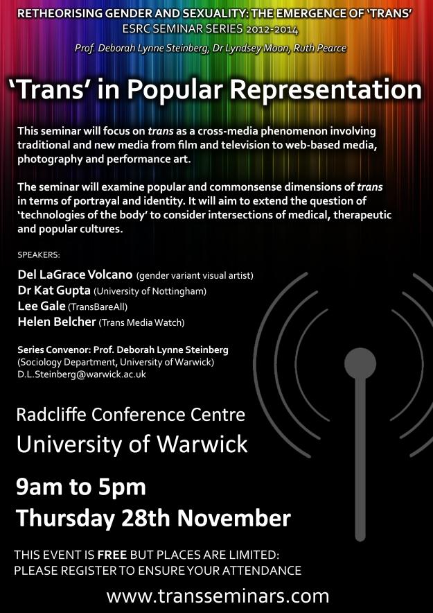 trans in popular representation